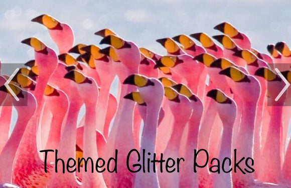 Themed Glitter Package