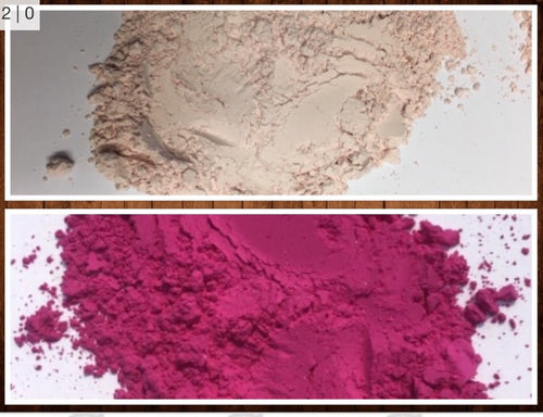 Red UV Powder