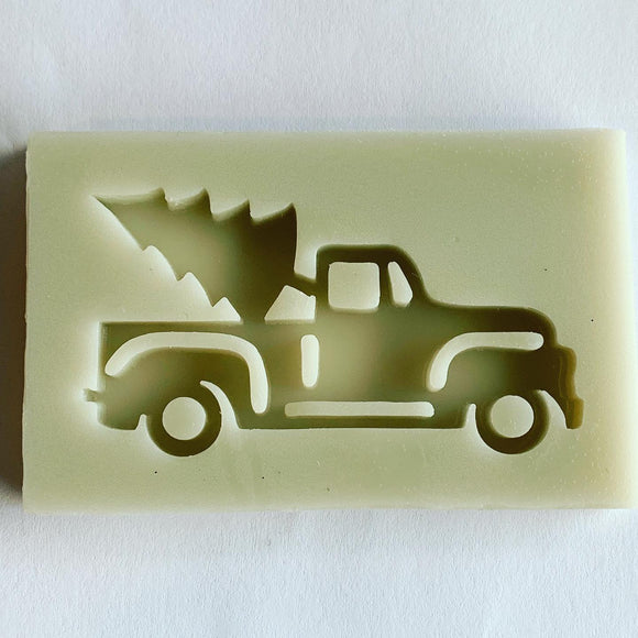 Christmas Tree Truck Mold