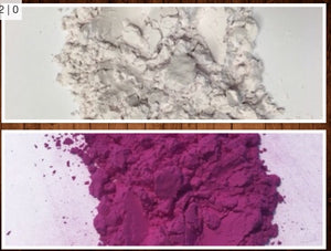 Purple UV Powder