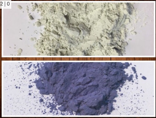 Blue UV Powder