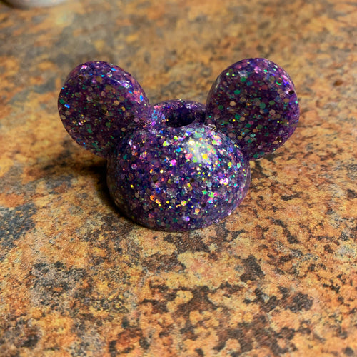 Mouse Straw Topper Mold