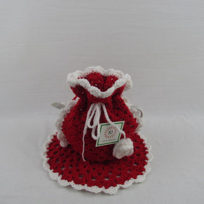 Tea Pot Cozy - Red and White