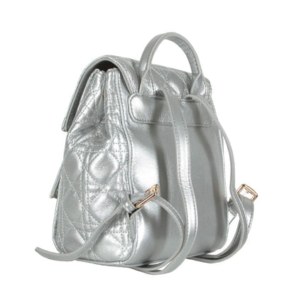 Sophie Silver Backpack