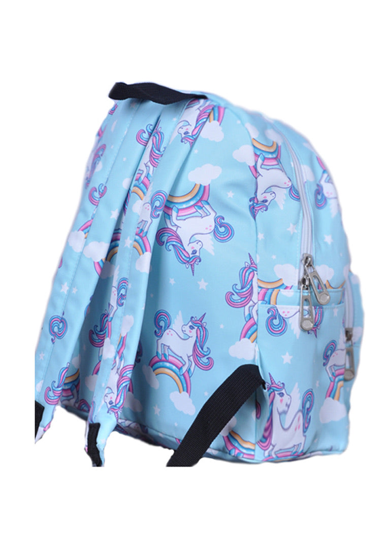 Adkidz rainbow unicorn printed backpack