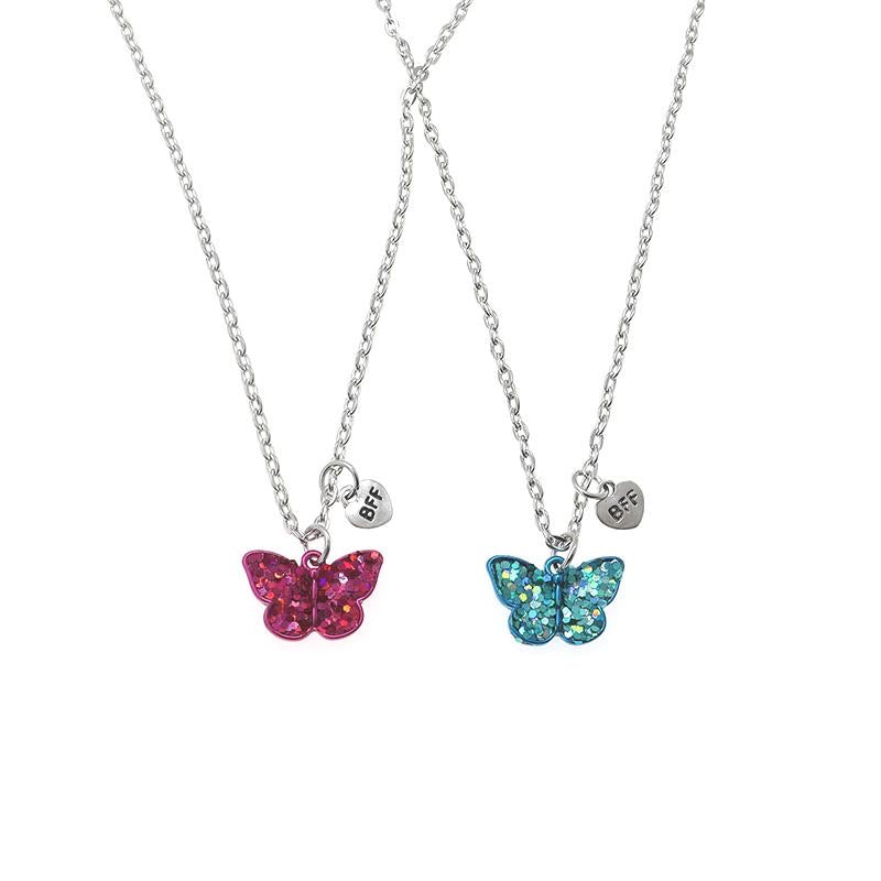 Adkidz Butterfly BFF locket with Chain