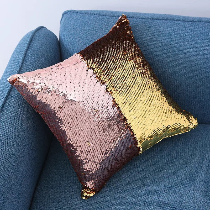 Flip Sequin Cushion