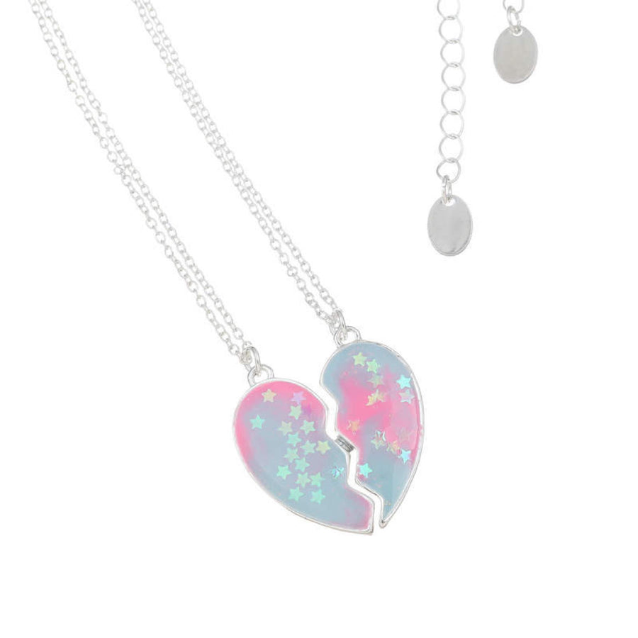 Adkidz Heart Shaped Friendship Locket and Chain