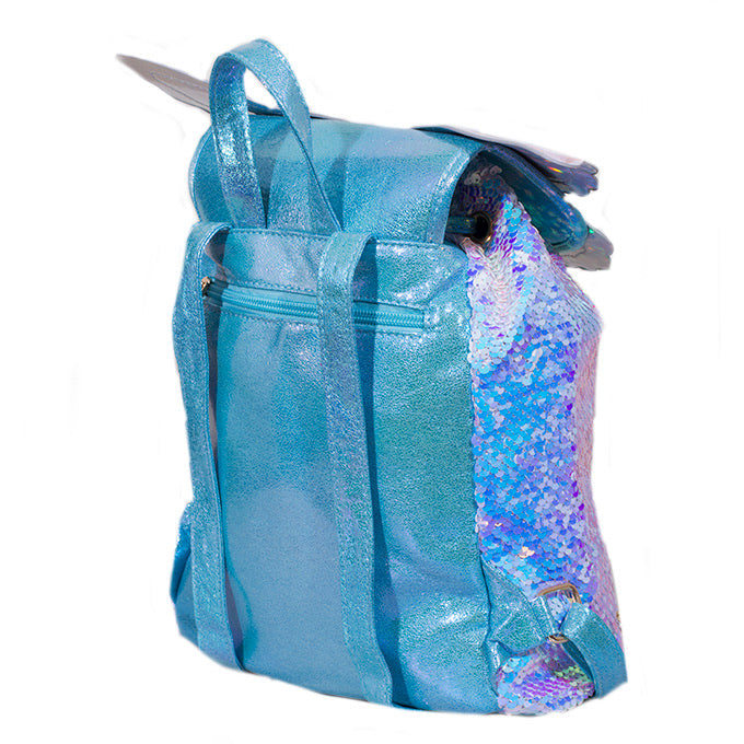 Adkidz Butterfly Reversible Sequin Backpack