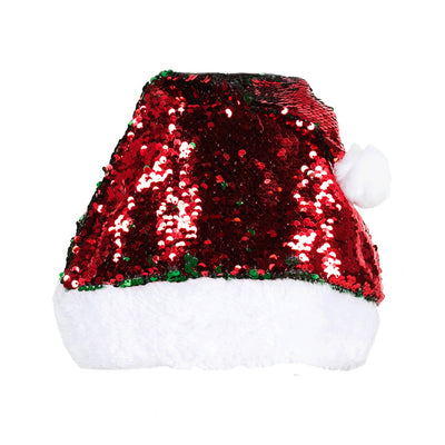 Adkidz Christmas Sequin Santa Hat