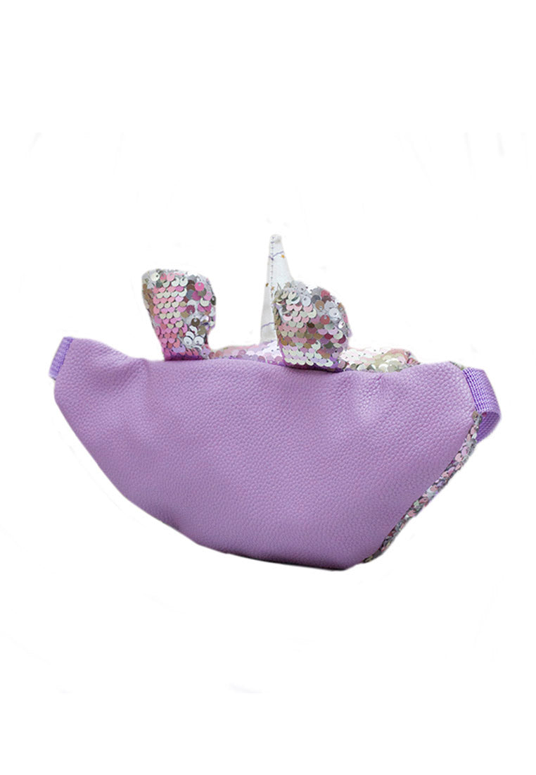 ADKIDZ Unicorn Flip Sequin Belt Bag