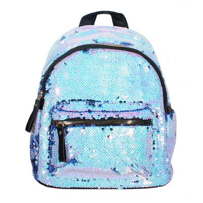 ADKIDZ Sparkly Reversible Sequin Backpack