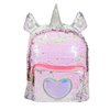 ADKIDZ Unicorn Horns Reversible Sequin Backpack
