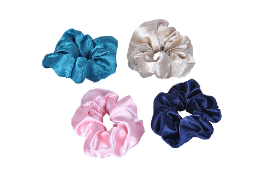 Adkidz 4 pack Satin Scrunchies