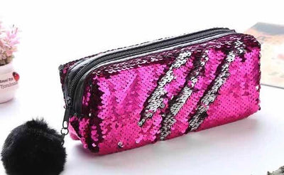 Sparkly Sequin Pencil Pouch