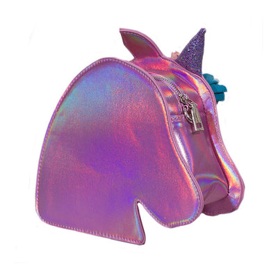 Adkidz Holographic Unicorn Crossbody Bag