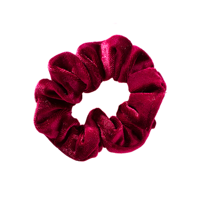 5 X Velvet Hair Scrunchies Pack
