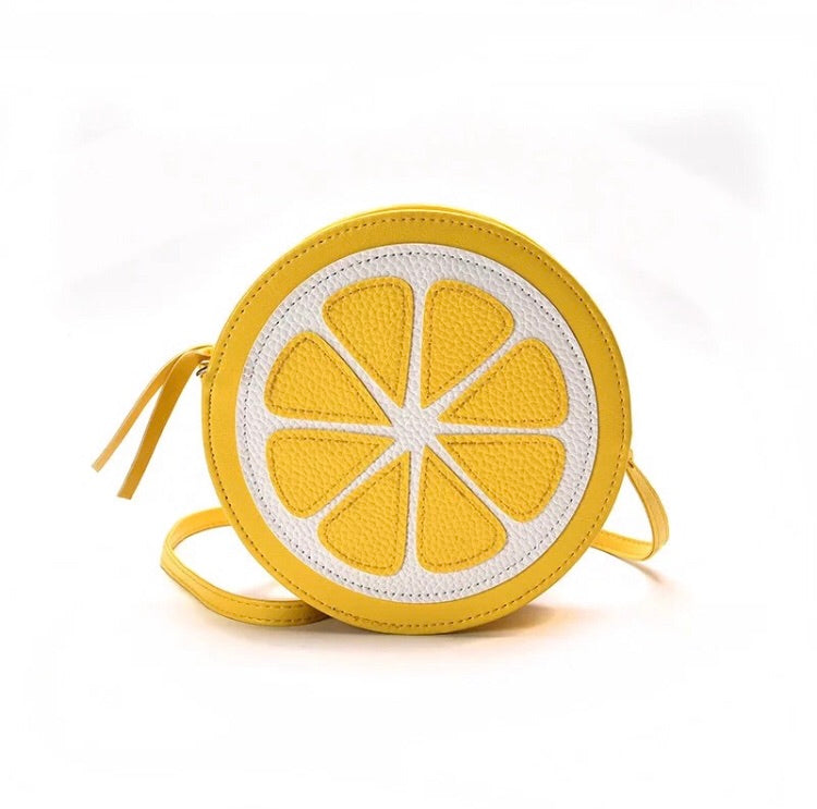 Lemon Shaped  Crossbody bag
