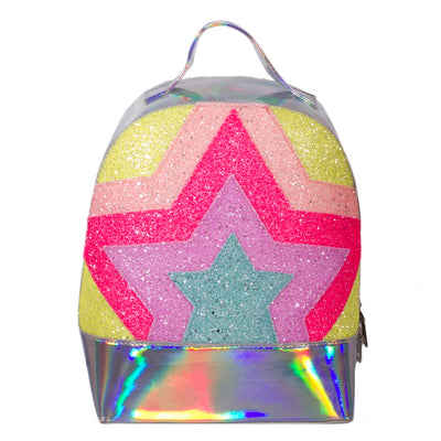 ADKIDZ Star Pattern Holographic Backpack