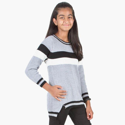 Cotton Rich Round Neck Sweater