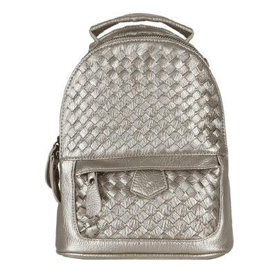 MIA METALLIC GOLD BACKPACK