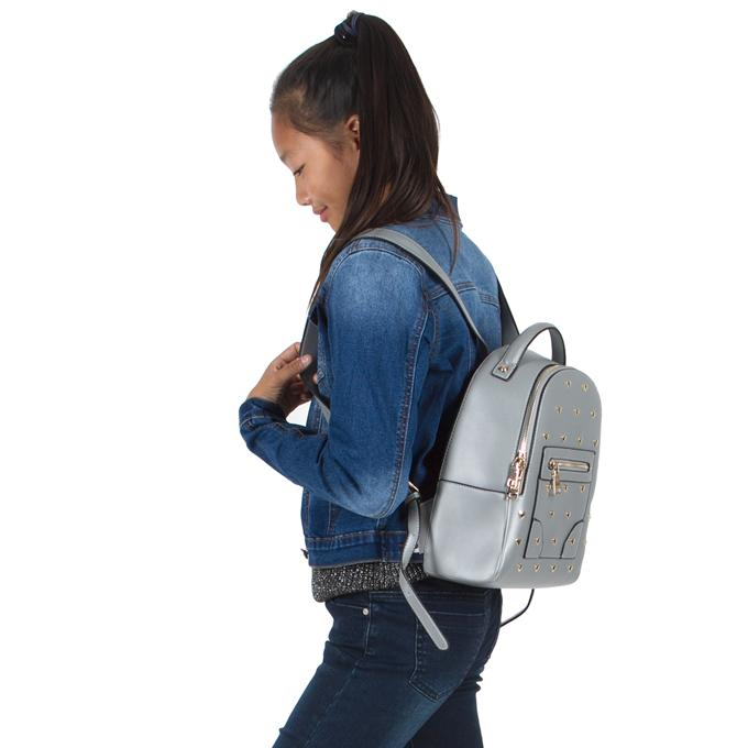 Sofia Silver Backpack