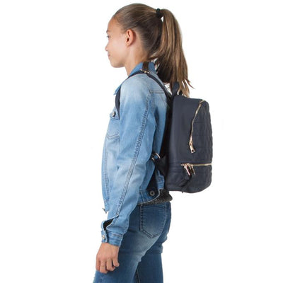 NAOMI NAVY BLUE BACKPACK
