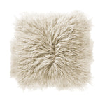 "Load image into Gallery viewer, Catalina 16"" Sq. Cream Mongolian Lamb Fur Pillow"