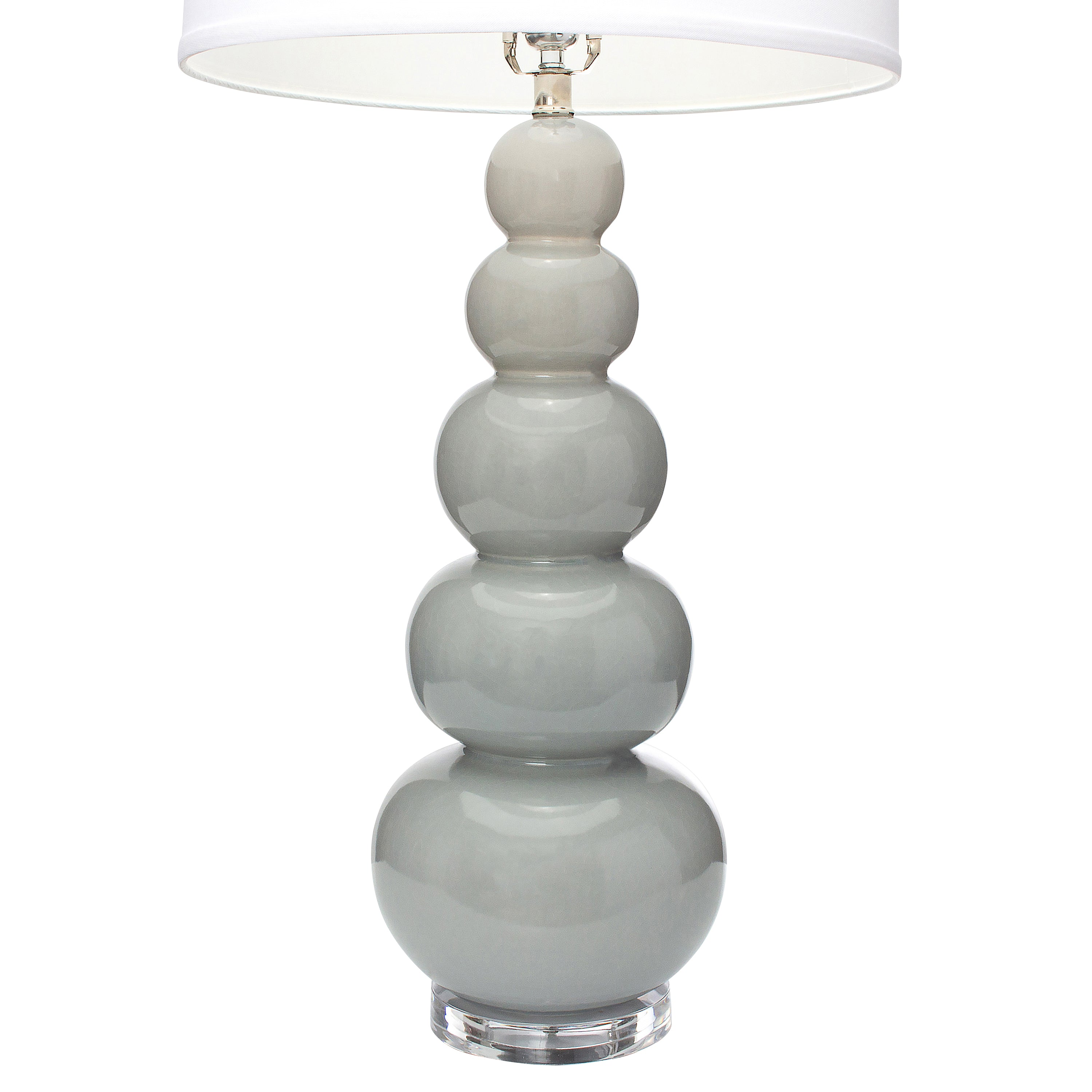 "34""H Brentwood Table Lamp - Coventry Grey"