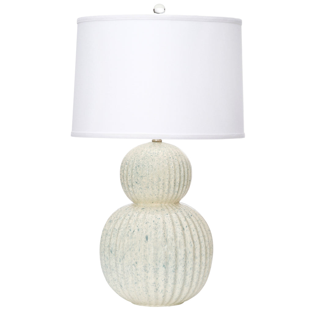 "28""H Holmby Table Lamp - Smoke Blue"