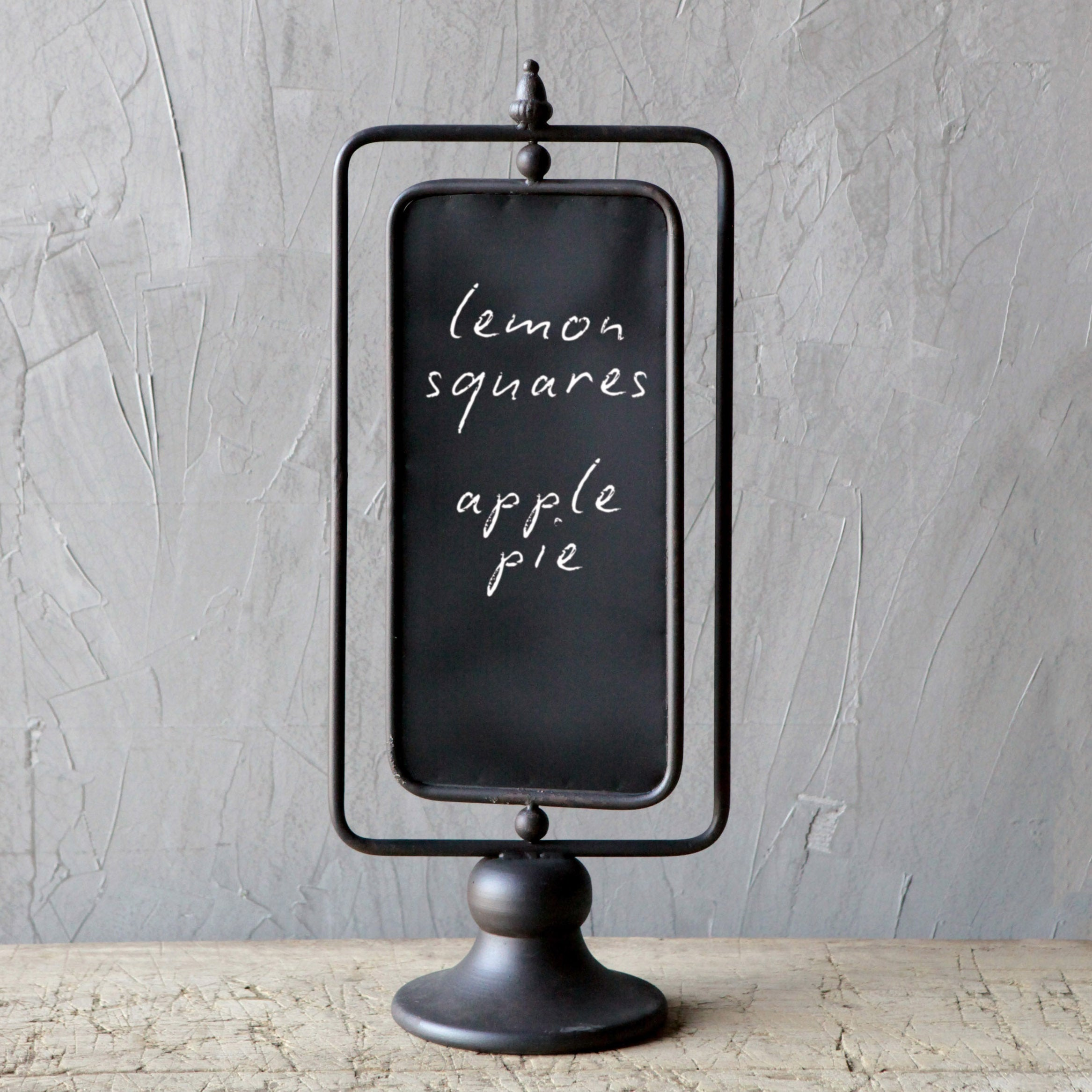 Grimaldi Metal Two-Sided Chalkboard on Stand
