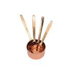Load image into Gallery viewer, Copper & Brass Measuring Cups [Set of 4]