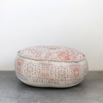 Load image into Gallery viewer, Montmarte Distressed Cotton Pouf