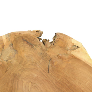 Mendocino Teak Wood Bowl