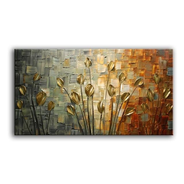 Handmade Textured Palette Abstracts
