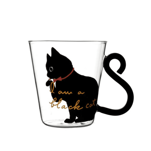 Transparent Cat Coffee Mug