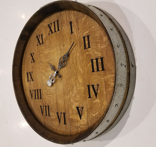 Beautiful Barrel Clock Boughtit.ca Barrel Products - Boughtit.ca