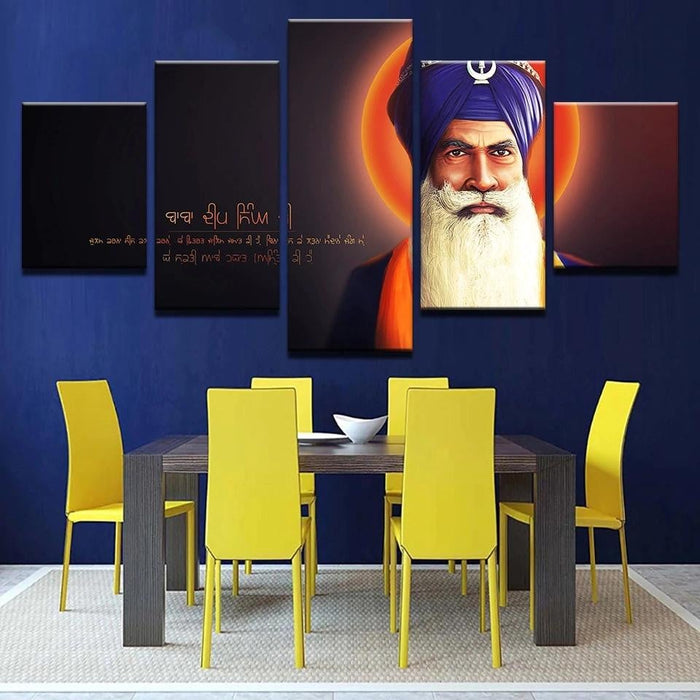 Baba Deep Singh Ji Boughtit.ca Art & Paintings - Boughtit.ca
