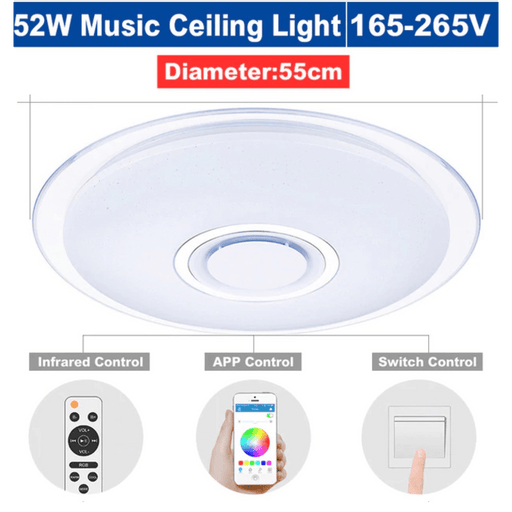 RGB Dimmable App Controled Bluetooth Music Light