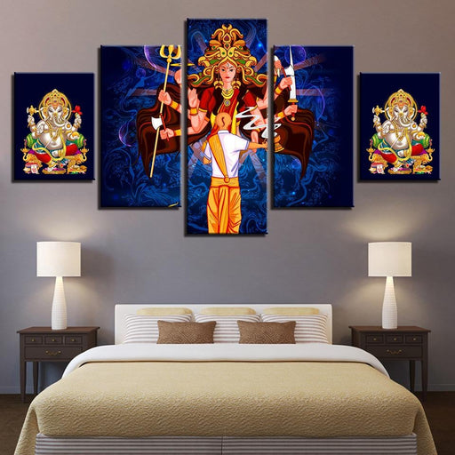 Goddess Durga and Ganesha Boughtit.ca  - Boughtit.ca