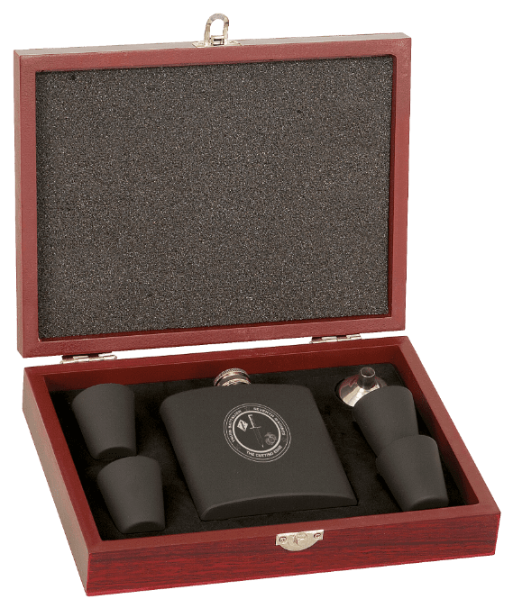 Flask set with Shots Boughtit.ca Barrel Products - Boughtit.ca