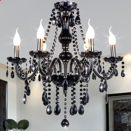 Nordic Black crystal chandeliers