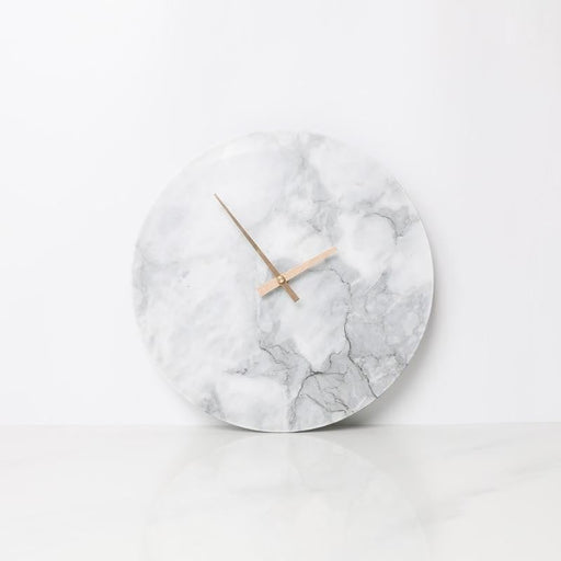 Nordic Style Marble Wall Clock