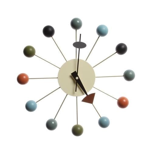 Ball Clock - Multicolor - Reproduction | GFURN Boughtit.ca Home & Décor - Boughtit.ca