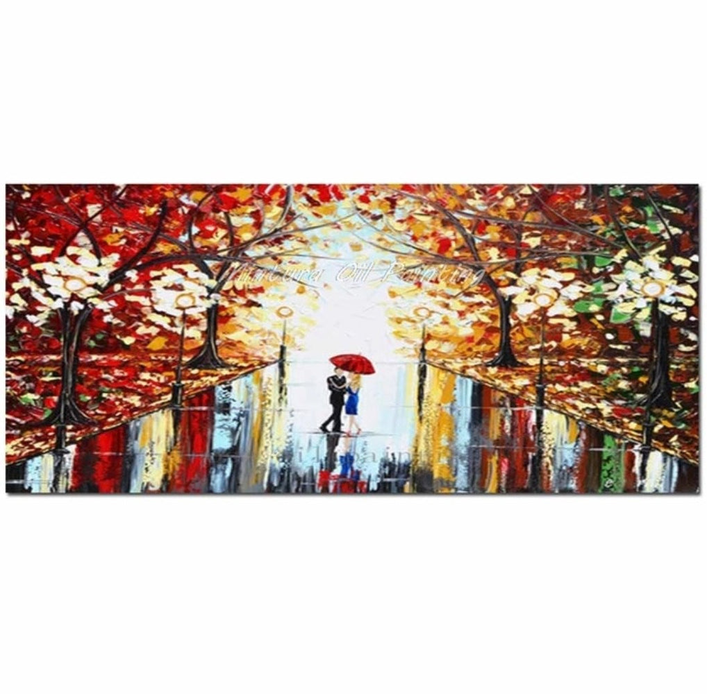 Handmade Couple - Red Boughtit.ca Art & Paintings - Boughtit.ca