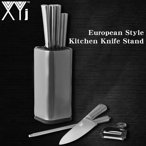 Kitchen Knife Stand Stainless Steel