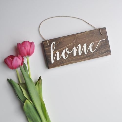 Home Sign, New Home Sign, Home Decor, Small Home Boughtit.ca Home & Garden - Boughtit.ca