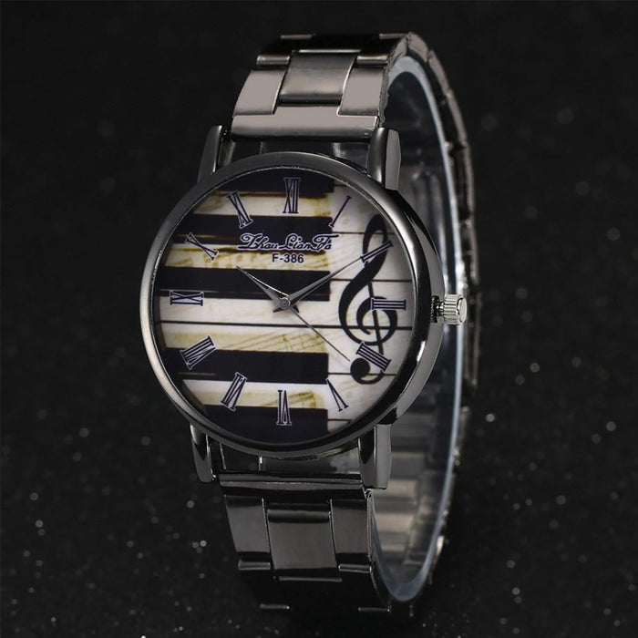 Women Quartz Stainless Steel Wristwatch