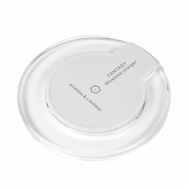Ultra Slim QI Wireless Fast Charger Charging Pad 5V 1A Wireless Charge for Samsung Galaxy S7 S6 Edge Plus Note 5 LG G2 G3 HTC