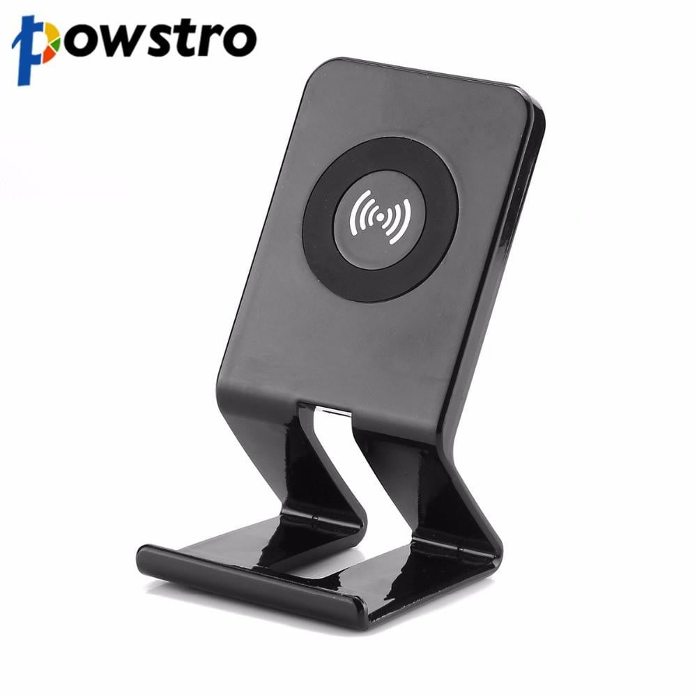 Powstro Wireless Charger Qi Coil Wireless Charging Stations for Samsung Note 8 S8 S7 S6 Edge